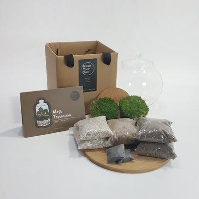 Moss Terrarium diy kit Singapore