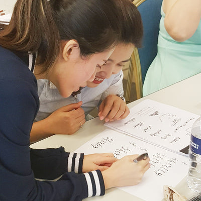 Corporate Basic Calligraphy Workshop - Design Your Own Name