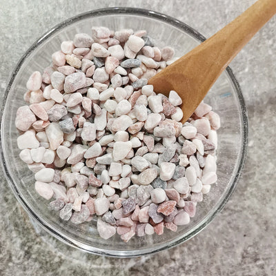 Neutral pink pebbles (small)