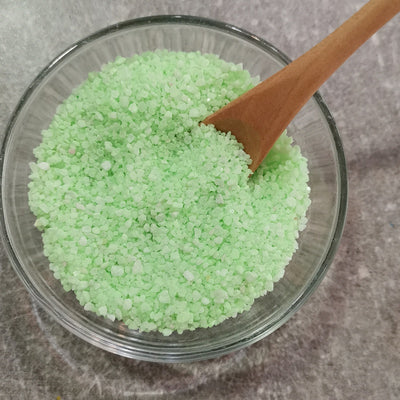 Green Colored Sand