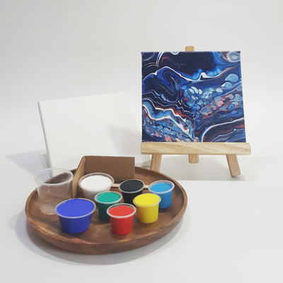 acrylic pour art jam diy kit Singapore
