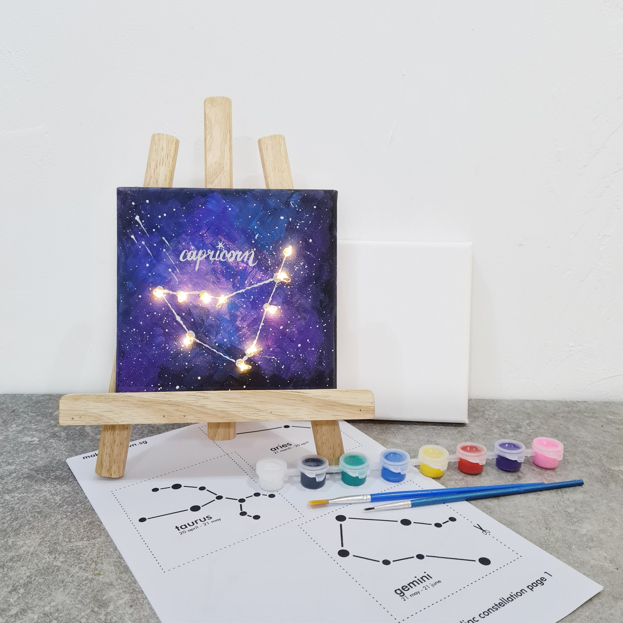 Art Jam - Constellation Zodiac Sign DIY kit