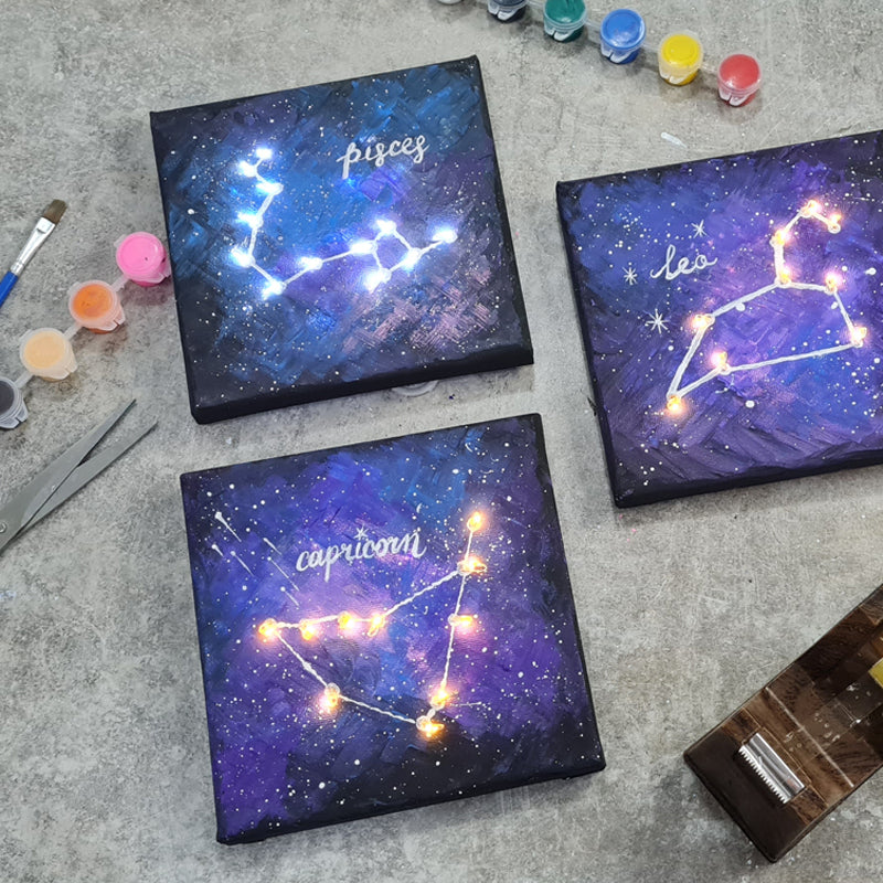 art jam constellation zodiac sign diy kit singapore