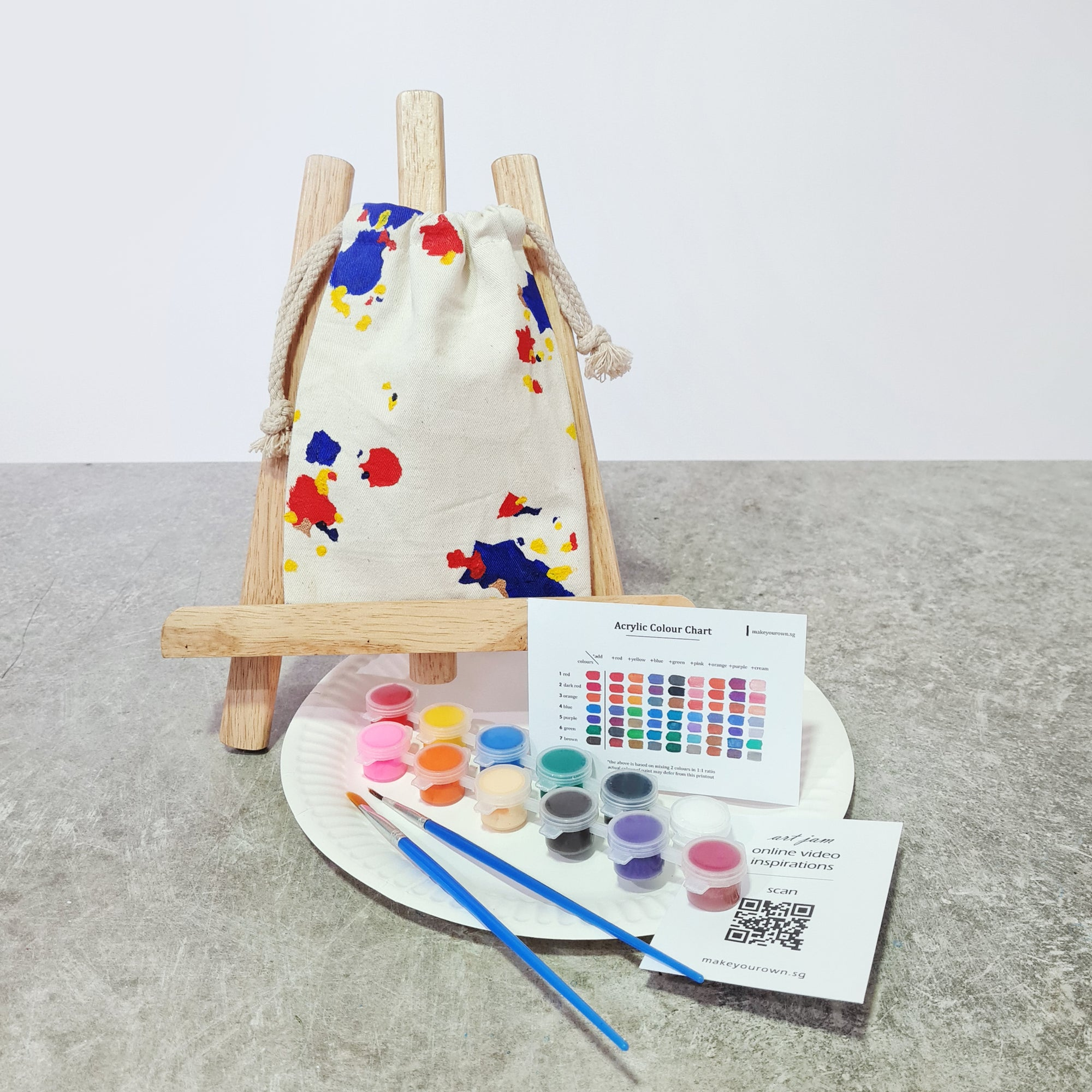 Art Jam - Pouch DIY kit