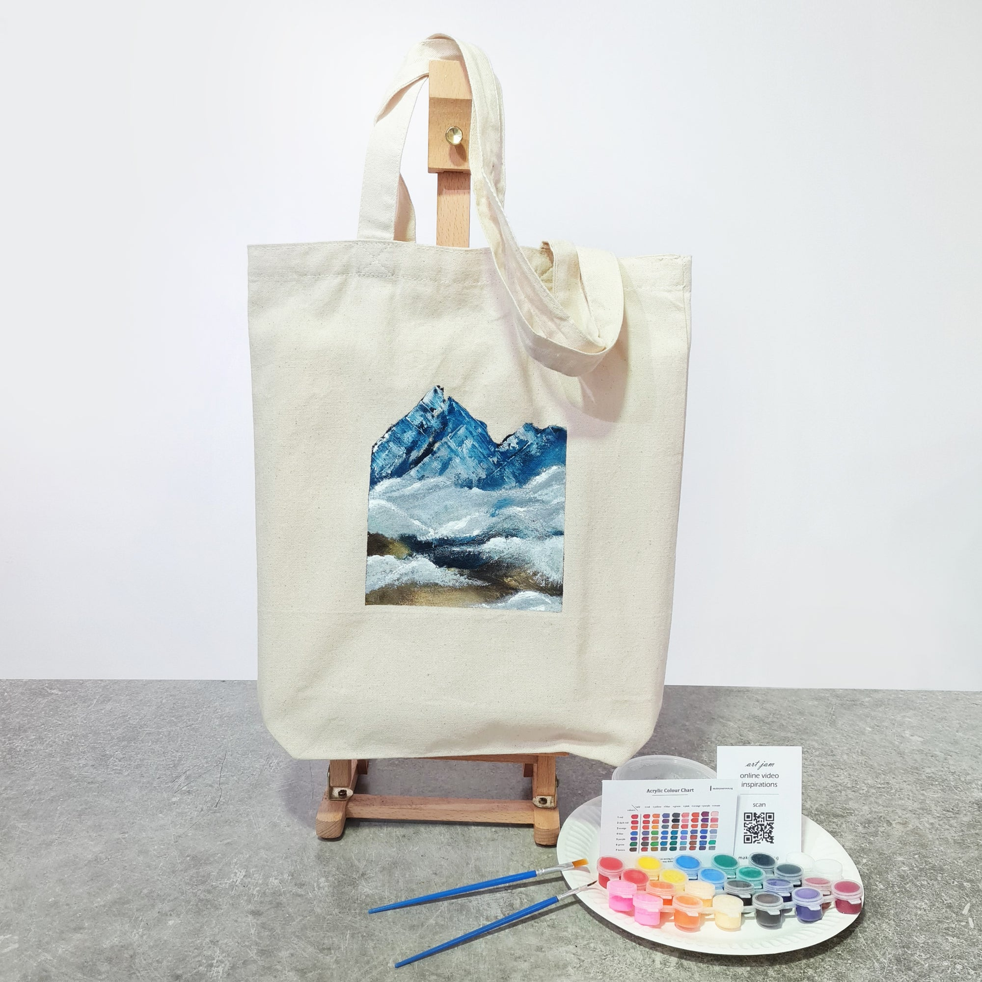 Art Jam - Tote Bag DIY kit