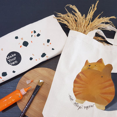 art jam diy kit tote bag Singapore