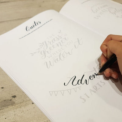 Corporate Basic Calligraphy Workshop Singapore Design Your Own Name