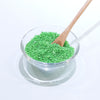 Bright Green Colored Sand