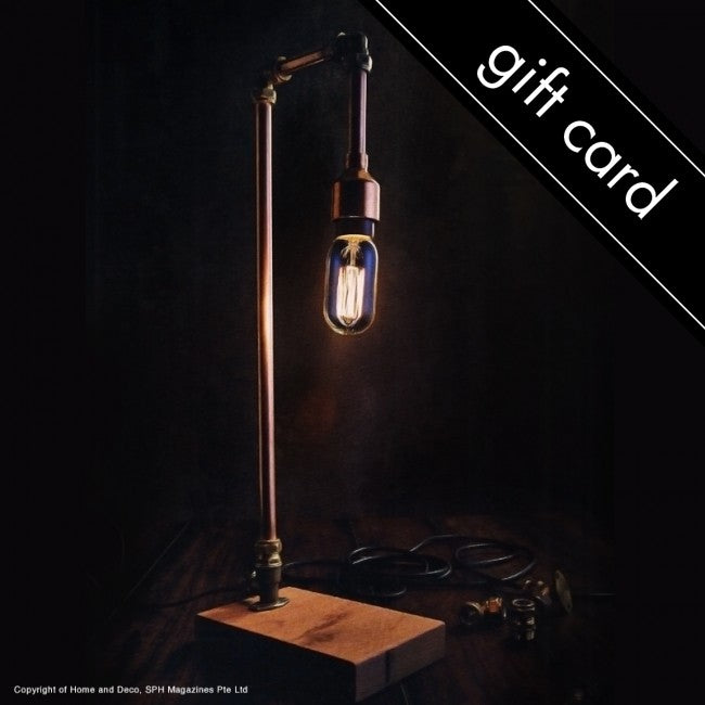 Copper Lamp Workshop Gift Card