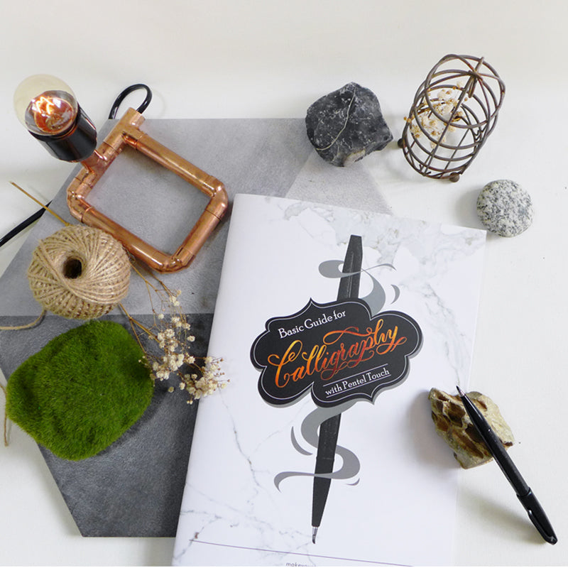 Basic modern calligraphy diy kit Singapore pentel touch