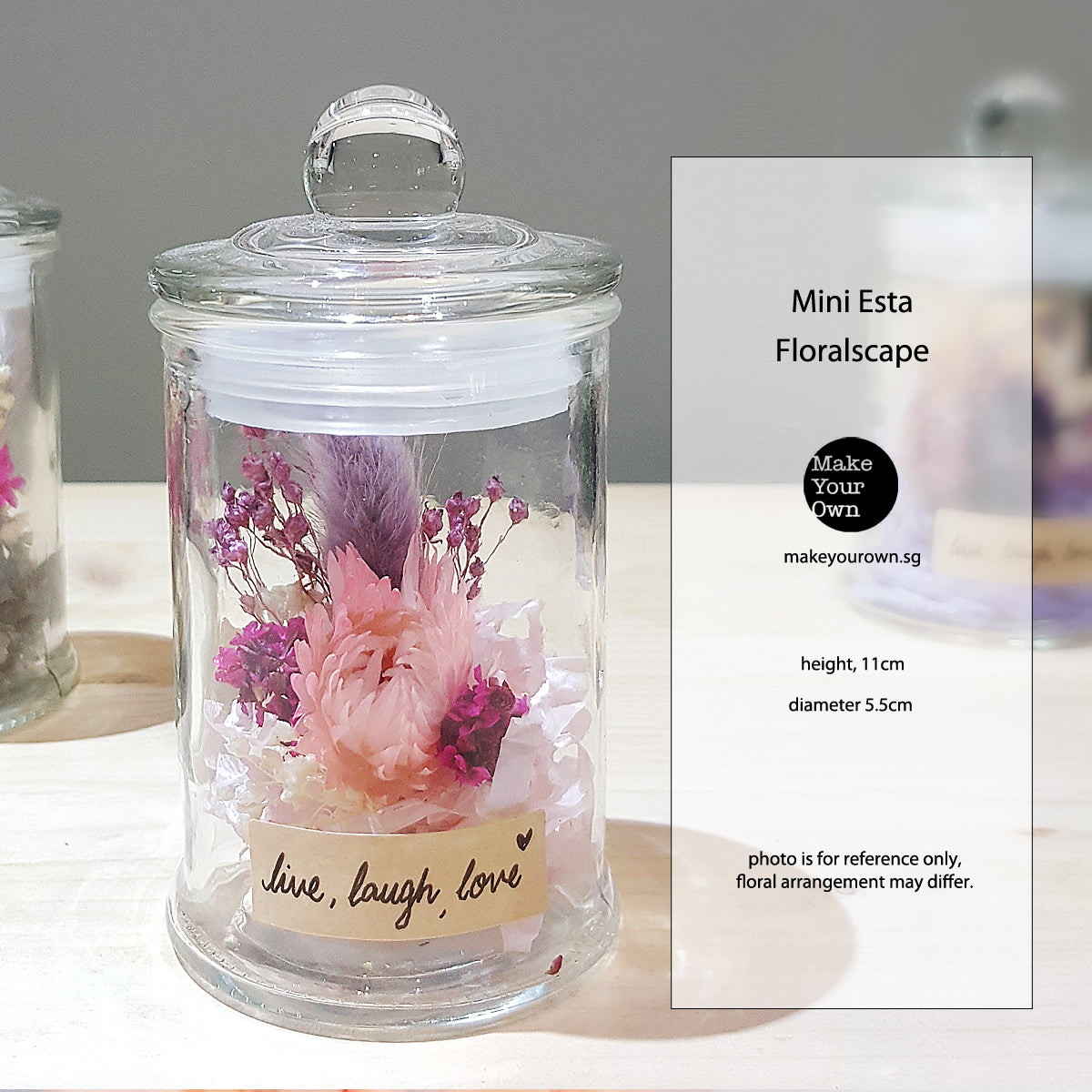 Virtual Event DIY kits - Mini Esta Floralscape
