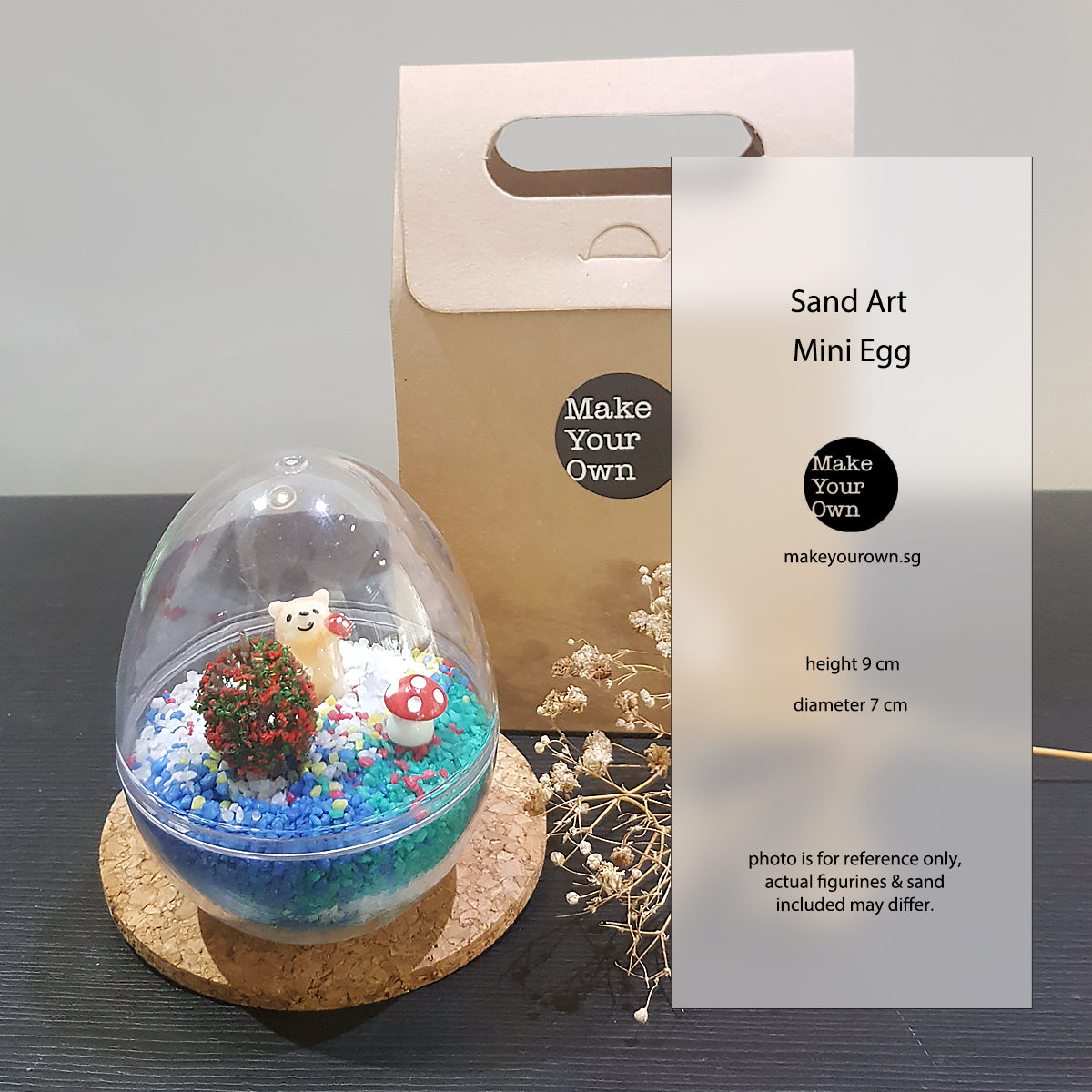 sand art mini egg event diy kit virtual workshop singapore