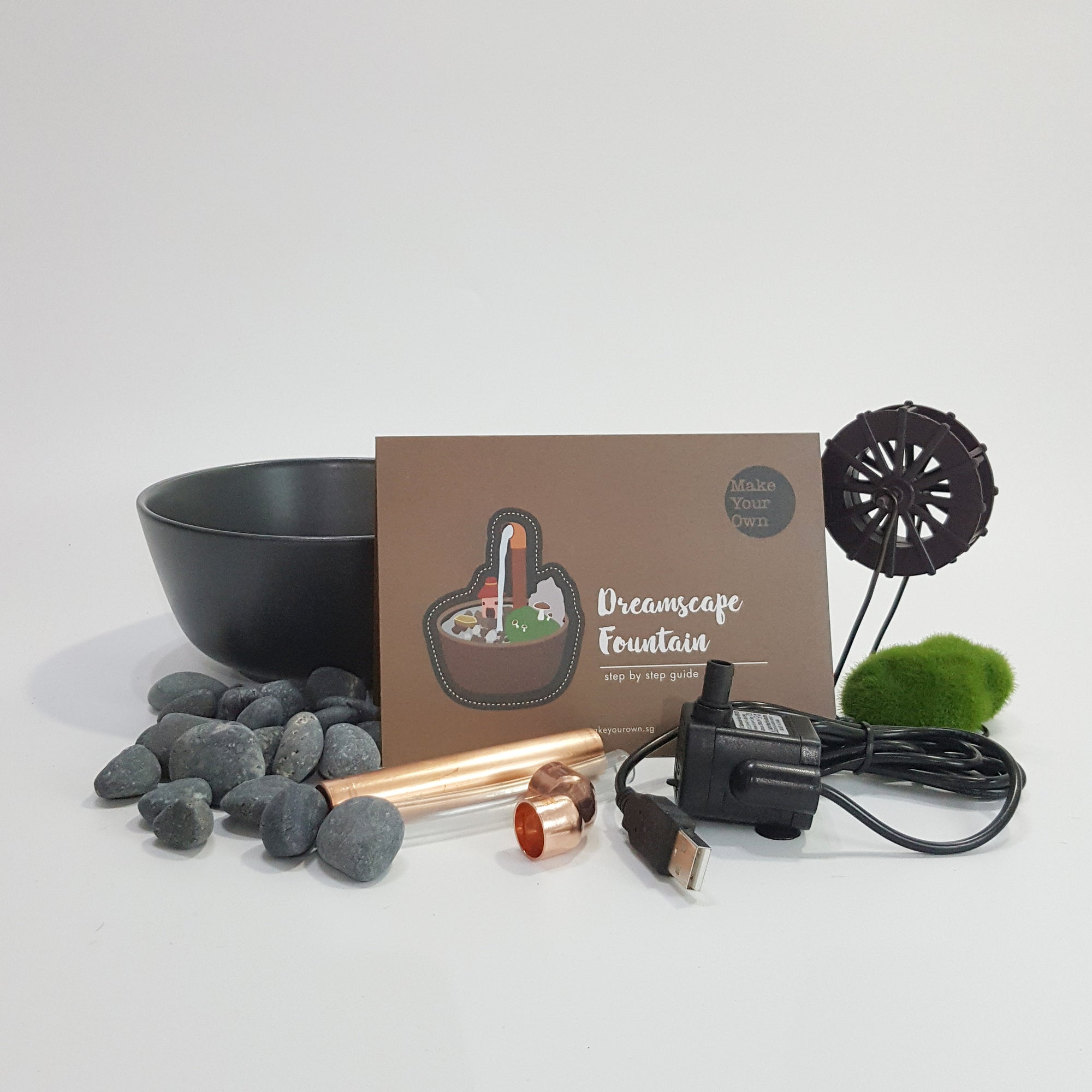 dreamscape fountain diy kit Singapore