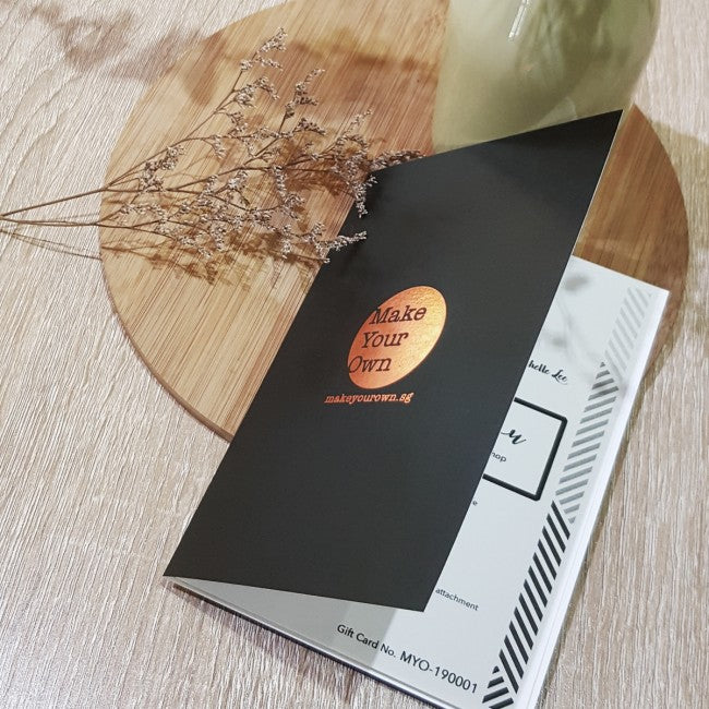 Hanging Planter + Copper Lamp Workshop Gift Card