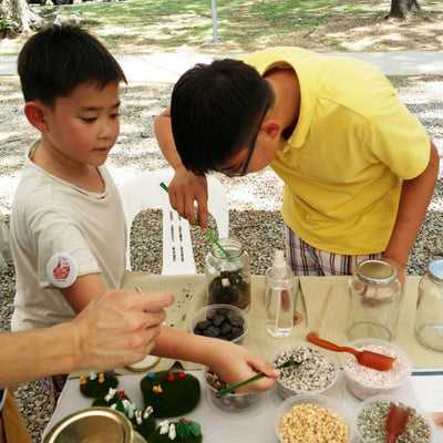 Kids Egg Terrarium Workshop Singapore