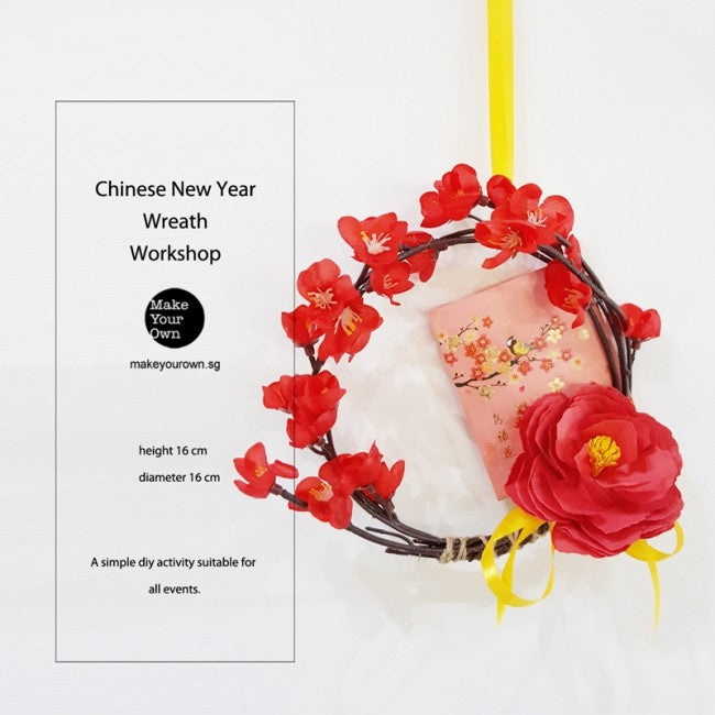 Corporate Chinese New Year Wreath Workshop Singapore