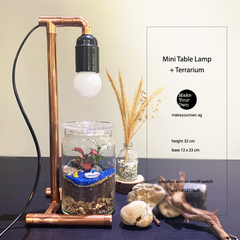 Corporate Mini Copper Lamp + Terrarium Workshop Type B