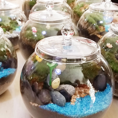 Corporate Dreamscape Moss Terrarium Workshop - Type D