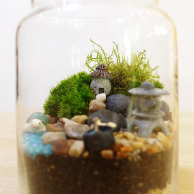 Corporate Dreamscape Moss Terrarium Workshop Singapore