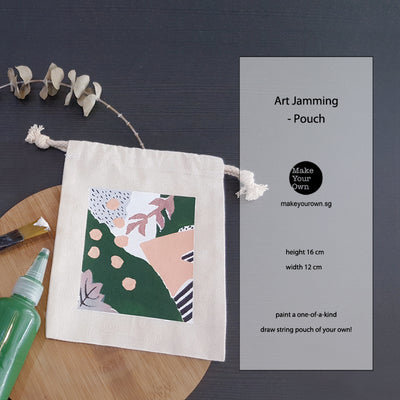 Virtual Corporate Art Jamming - Pouch