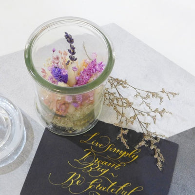 Corporate Dried Preserved Flower Workshop Singapore
