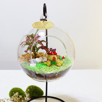 Corporate Globescape Terrarium Workshop Singapore