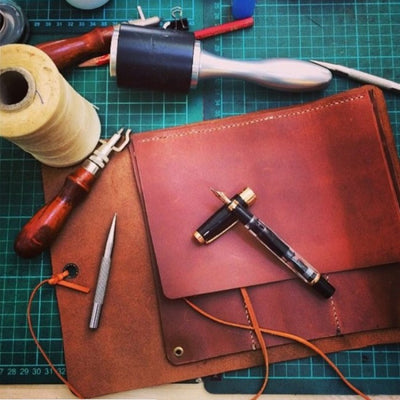 Corporate Basic Leather Craft Workshop Singapore Leather Card Holder