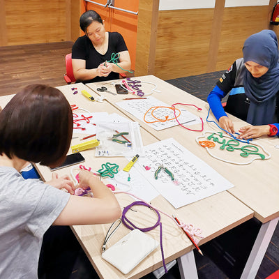 Corporate String Light Wiregraphy Workshop