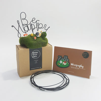 wire art wiregraphy diy kit Singapore