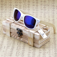 Load image into Gallery viewer, BOBO BIRD'S Bamboo Men's/Women's polarized Sunglasses - Wood Addiction