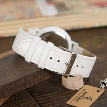 Load image into Gallery viewer, BOBO BIRD'S Bamboo Wristwatch For Women with Leather Band