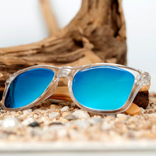 Load image into Gallery viewer, BOBO BIRD'S Men/Women's Clear Frame Bamboo Polarized Sunglasses