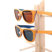 Load image into Gallery viewer, BOBO BIRD'S  Men/Women's Polarized Layered Wooden Framed  Sunglasses