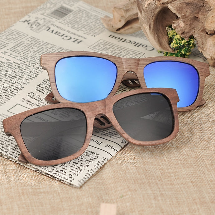 BOBO BIRD'S Men/Women's Wood Polarized Sunglasses