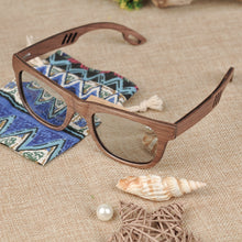 Load image into Gallery viewer, BOBO BIRD'S Men/Women's Wood Polarized Sunglasses