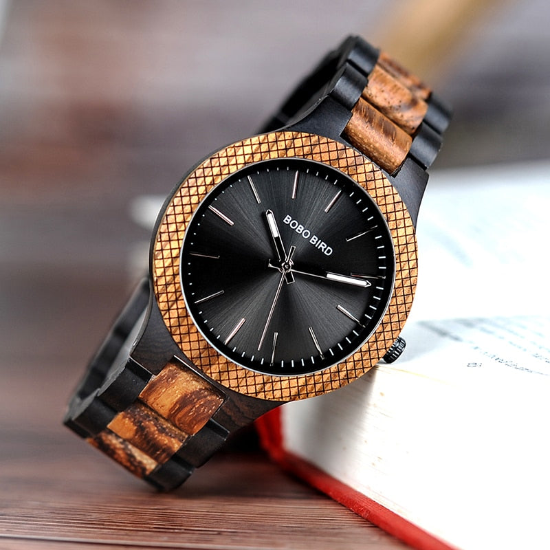 BOBO BIRD'S Wooden Men's Quartz Watch