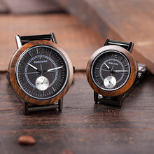 Load image into Gallery viewer, BOBO BIRD'S Mens and Womens matching Watches