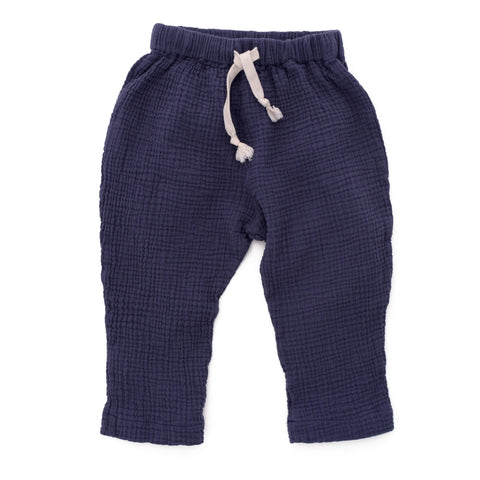 Gus Slouchy Pants in Orion Blue