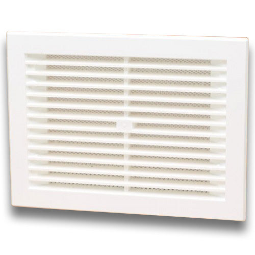 White Vent Grill - 285x 244mm