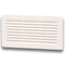 White Vent Grill  245x 145mm
