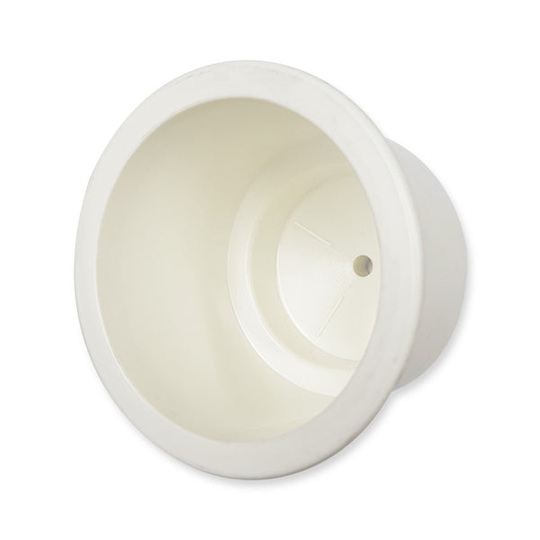 Plastic Cup Holder - White