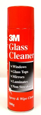 3M Cleaner Glass & Laminate 500g can