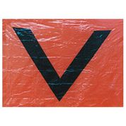 V Sheet Orange International Distress
