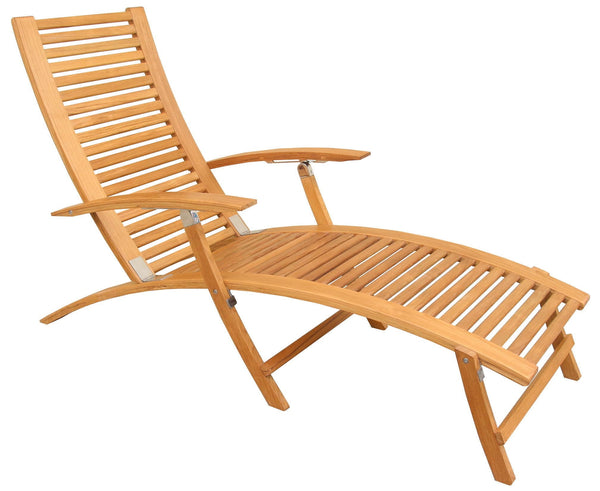 Folding Teak Deckchair