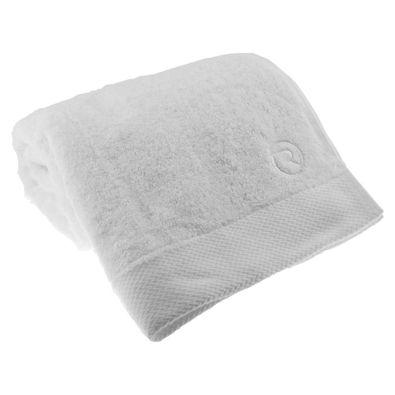 Riviera Bath Towel - White
