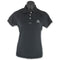 Ladies Fast Dri Polo - Black