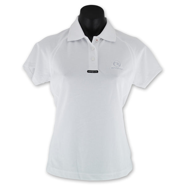 Ladies Fast Dri Polo - Optical White