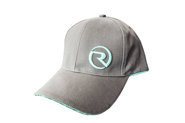 Riviera 3D Cap Light Charcoal/Teal