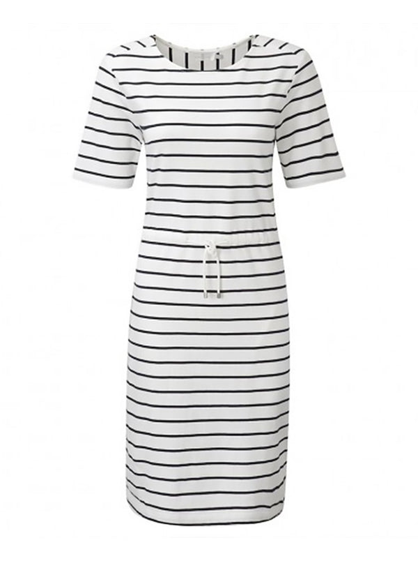 Dress Maddie Stripe WHT