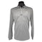 Mens Riviera Lifestyle Long Sleeve Polo - Silver